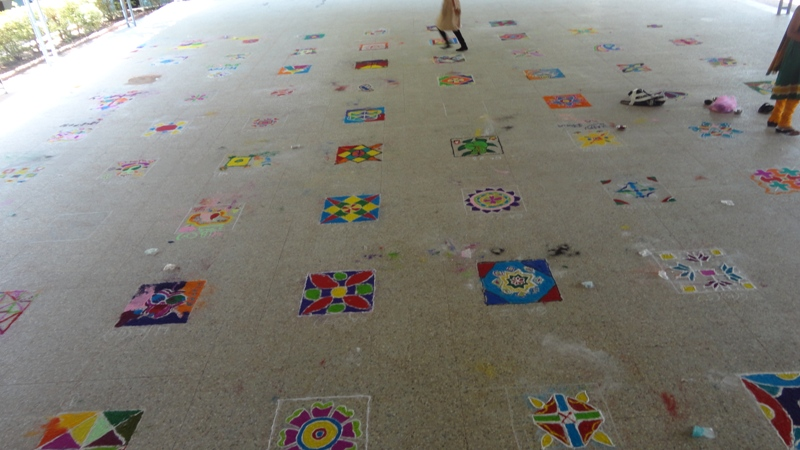 Rangoli Competition-2014