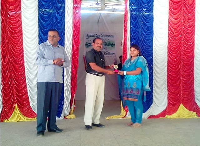 Prize Distribution - 2014