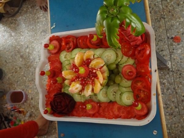 BCA  Annual Day-SALAD COMP. - 2013