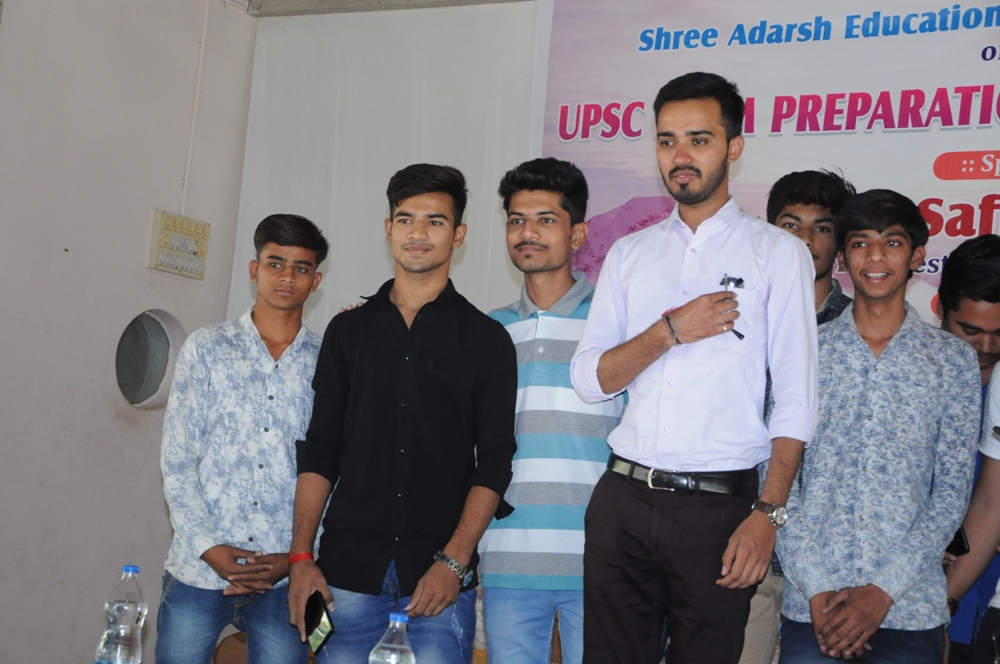 MOTIVATIONAL TALK-SAFIN HASAN(IPS)-2018